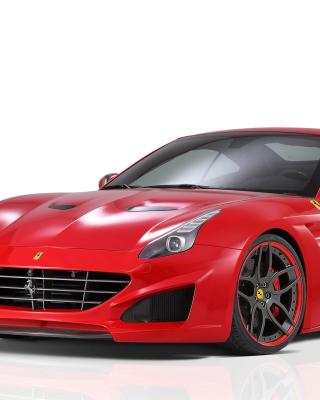 Novitec Rosso Ferrari California - Obrázkek zdarma pro Nokia Asha 501