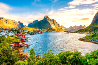 Norway Stunning Landscape Wallpaper for Android, iPhone and iPad
