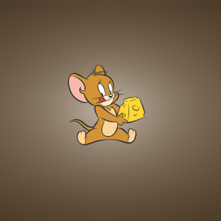 Tom And Jerry Mouse With Cheese - Obrázkek zdarma pro 208x208