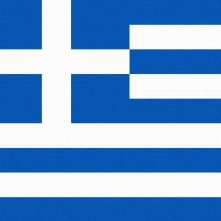 Greece Flag - Obrázkek zdarma pro 320x320