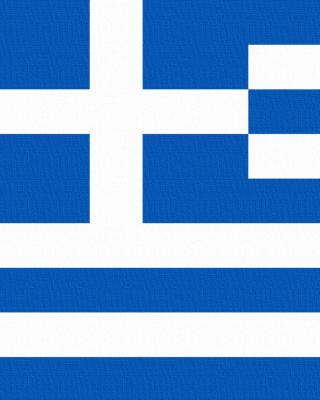 Greece Flag - Obrázkek zdarma pro Nokia Asha 306
