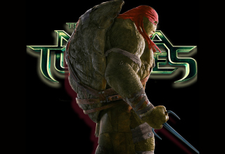 TMNT 2014 - Raphael Background for Android, iPhone and iPad