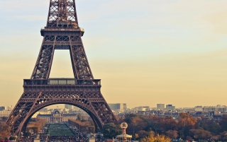 Paris Eiffel Tower Wallpaper for Android, iPhone and iPad