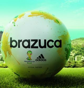 Adidas Brazuca Match Ball FIFA World Cup 2014 - Obrázkek zdarma pro iPad mini 2
