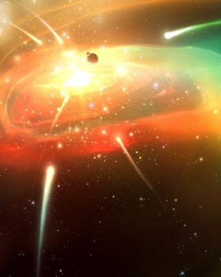 Planets & Comets - Obrázkek zdarma pro Nokia Asha 306
