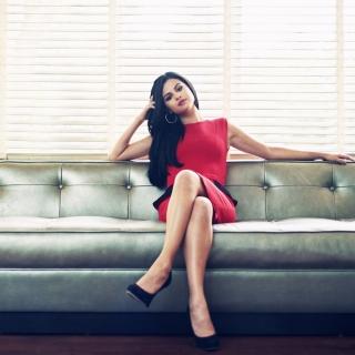 Selena Gomez - Obrázkek zdarma pro iPad mini