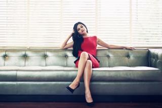 Selena Gomez - Obrázkek zdarma pro Desktop Netbook 1366x768 HD