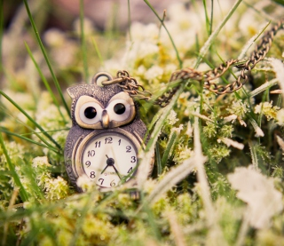 Owl Watch Pendant - Obrázkek zdarma pro 320x320