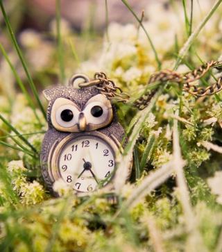 Owl Watch Pendant - Obrázkek zdarma pro 640x960