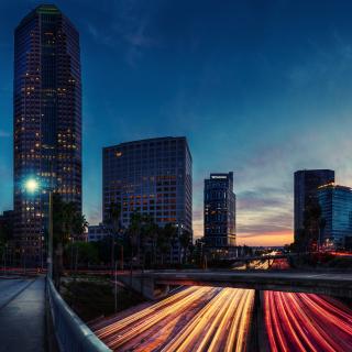 Los Angeles Panorama - Obrázkek zdarma pro 2048x2048