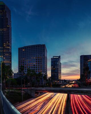 Los Angeles Panorama - Obrázkek zdarma pro iPhone 5
