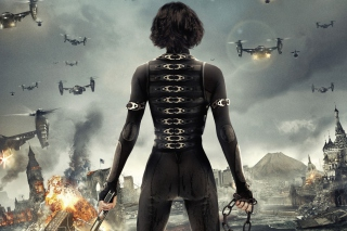Alice In Resident Evil 5 Retribution Background for Android, iPhone and iPad