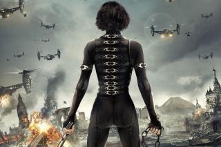 Alice In Resident Evil 5 Retribution - Obrázkek zdarma pro LG P970 Optimus