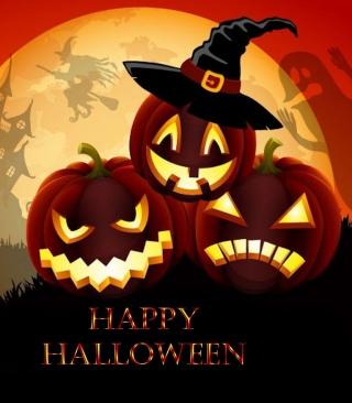 Happy Halloween - Obrázkek zdarma pro 176x220