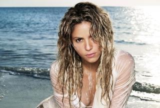 Shakira On Beach - Obrázkek zdarma pro Samsung Galaxy A3