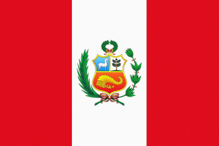 Flag Of Peru Background for Android, iPhone and iPad