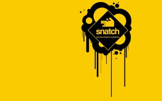 Snatch Logo Wallpaper for Android, iPhone and iPad