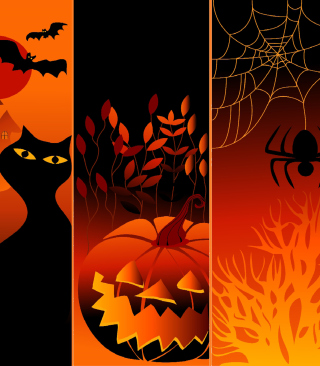 Happy Halloween - Obrázkek zdarma pro Nokia 206 Asha