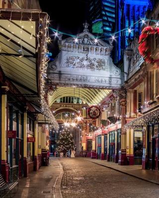 London Leadenhall Market - Obrázkek zdarma pro iPhone 6 Plus