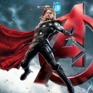 Thor Avengers - Obrázkek zdarma pro iPad 3