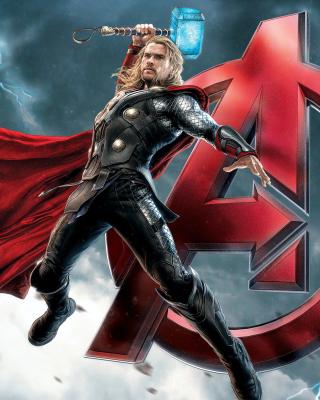 Thor Avengers - Obrázkek zdarma pro Nokia C2-03