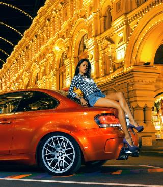 Need For Speed Most Wanted - Orange Bmw M1 - Obrázkek zdarma pro Nokia C6-01