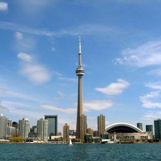 CN Tower in Toronto, Ontario, Canada - Obrázkek zdarma pro 1024x1024