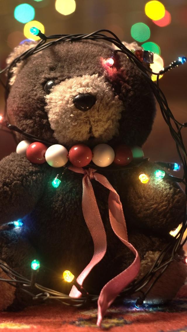 Teddy bear wallpaper for iphone