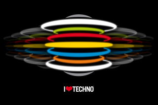 Techno Background for Android, iPhone and iPad