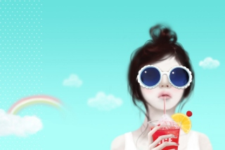 Free Cool Girl Drawing Picture for Android, iPhone and iPad