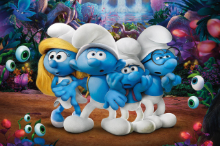 Smurfs The Lost Village sfondi gratuiti per cellulari Android, iPhone, iPad e desktop