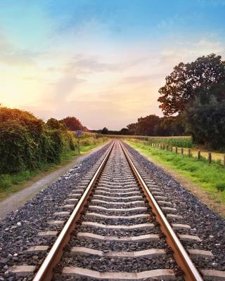 Scenic Railroad Track - Obrázkek zdarma pro Nokia C7