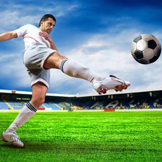Football Player - Obrázkek zdarma pro iPad mini 2