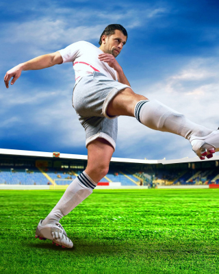 Football Player - Obrázkek zdarma pro iPhone 4