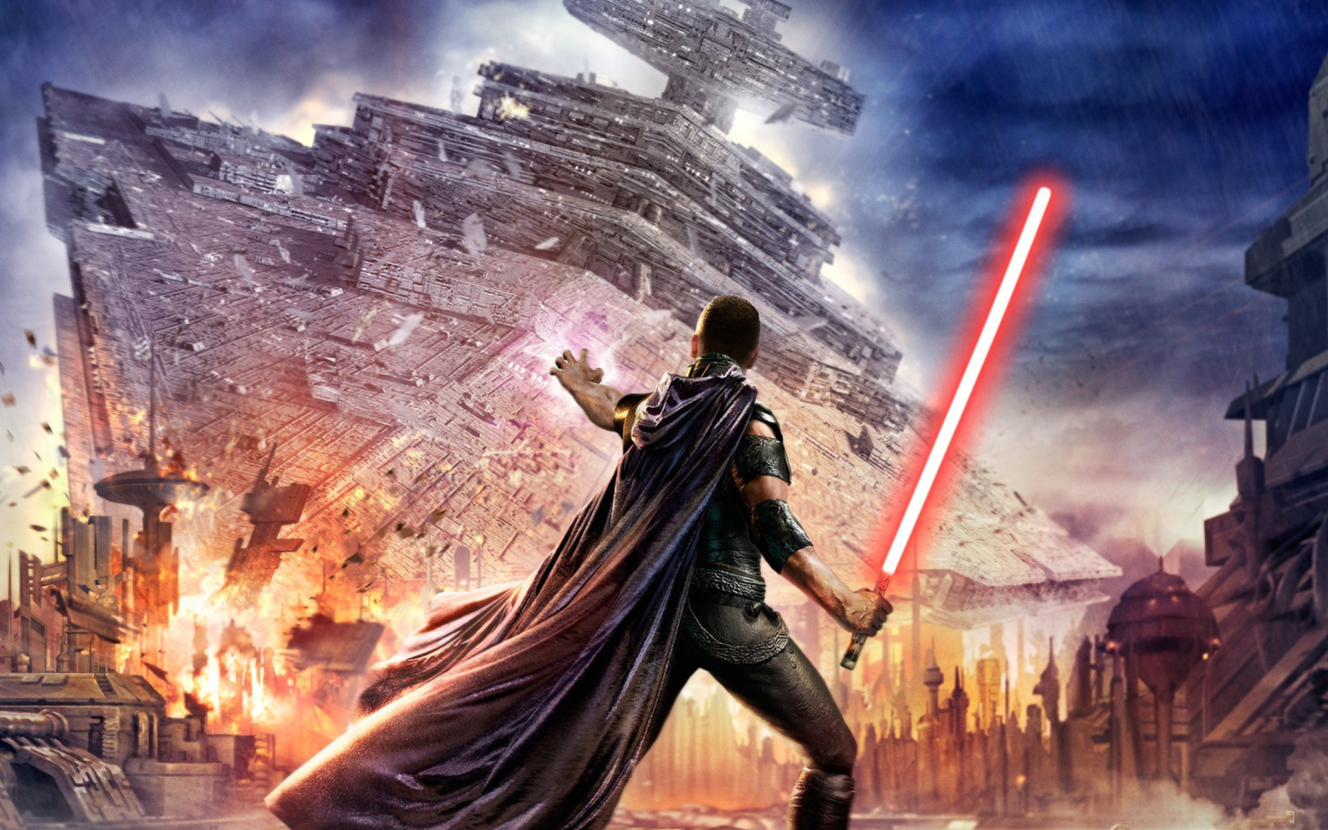 Star wars the force unleashed fondos de pantalla gratis para widescreen escritorio pc - Fondos de escritorio de star wars ...