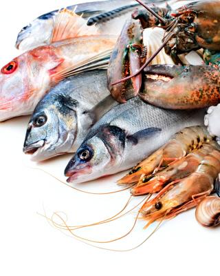 Fresh Seafood - Obrázkek zdarma pro Nokia C-Series
