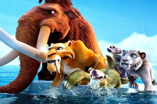 Ice Age 4 Background for Android, iPhone and iPad