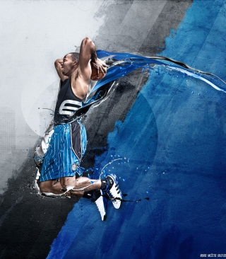 Dwight David Howard - Adidas - Obrázkek zdarma pro 176x220