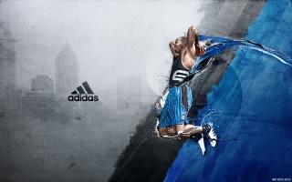 Dwight David Howard - Adidas - Obrázkek zdarma pro Motorola DROID