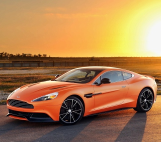 Aston Martin Vanquish - Obrázkek zdarma pro iPad