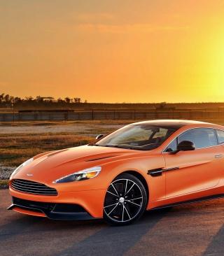 Aston Martin Vanquish - Obrázkek zdarma pro 360x400