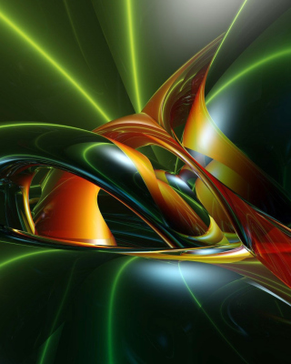 Inspiring Abstract 3D - Obrázkek zdarma pro 240x432