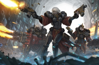 Warhammer40000 Sisters Of Battle Adepta Sororitas Background for Android, iPhone and iPad
