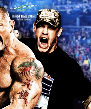 Batista Vs John Cena - Obrázkek zdarma pro Nokia C-5 5MP