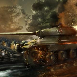 World of Tanks, IS 6 Panzer tank - Obrázkek zdarma pro iPad 2