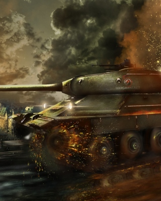 World of Tanks, IS 6 Panzer tank - Obrázkek zdarma pro iPhone 4S
