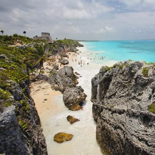 Cancun Beach Mexico - Obrázkek zdarma pro iPad Air