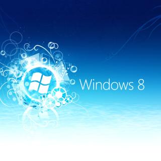 Windows 8 Blue Logo - Obrázkek zdarma pro 320x320
