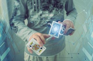 Futuristic Magician - Obrázkek zdarma pro Sony Xperia Tablet S