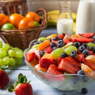 Healthy Berry Dessert - Obrázkek zdarma pro 208x208